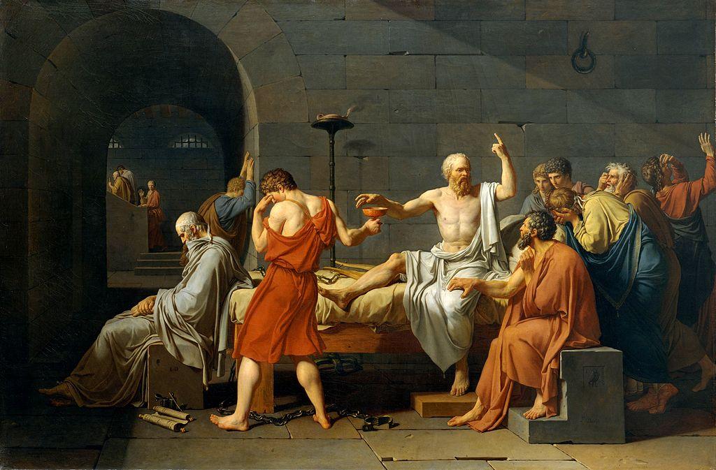 David - La mort de Socrate (1787)