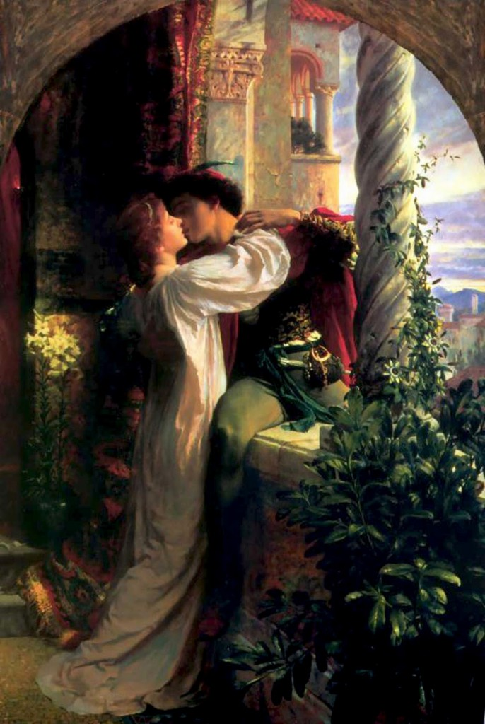 Frank Dicksee - Romeo and Juliet (1884)