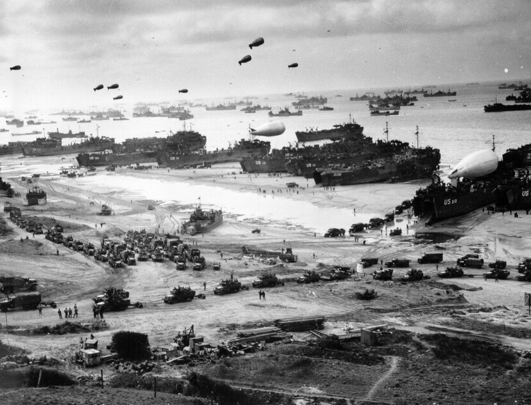 Source : Archives de l'US Coast Guard Collection des US National Archives – https://www.history.navy.mil/our-collections/photography/wars-and-events/world-war-ii/d-day/26-G-2517.html
