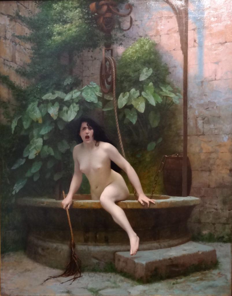 Jean-Léon Gerôme - La vérité sortant du puits (1896)