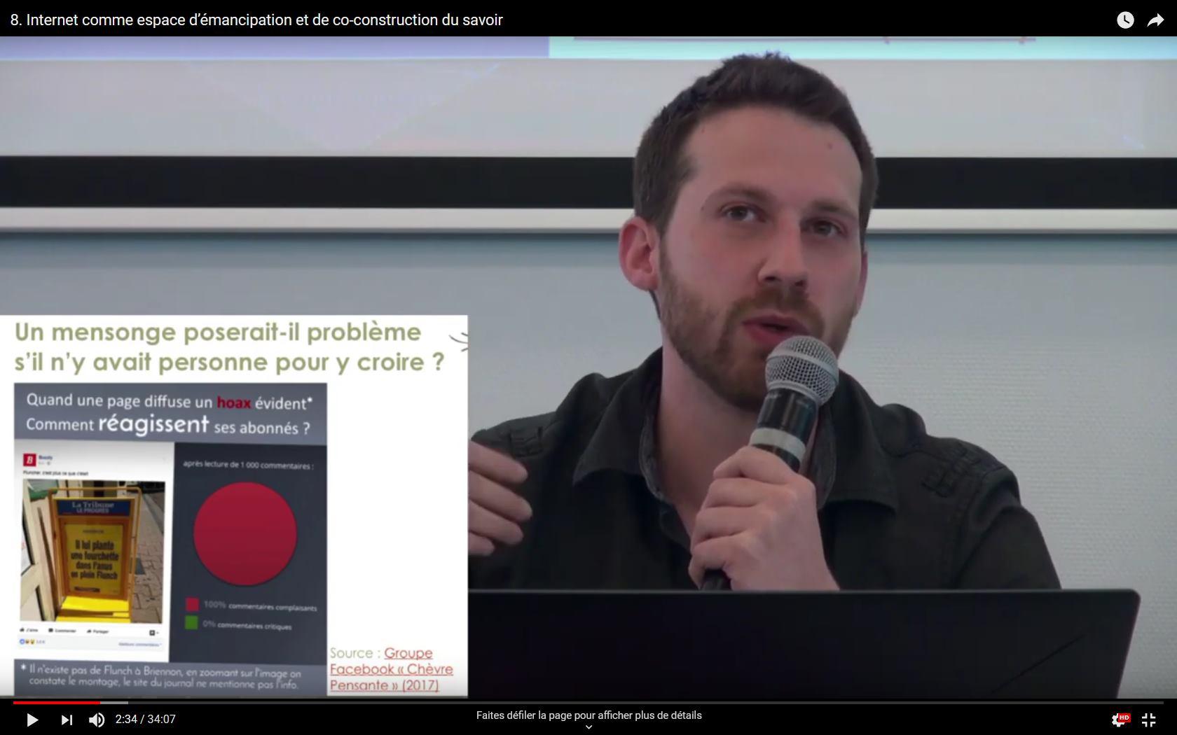 Interventions Julien Lecomte