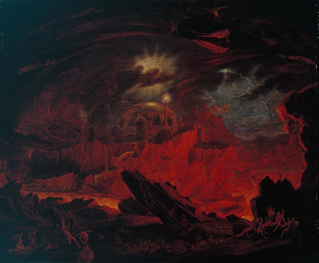 John Martin - Fallen Angels (1841)