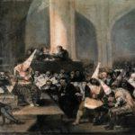 Francisco de Goya - The Inquisition Tribunal (1812 - 1819)