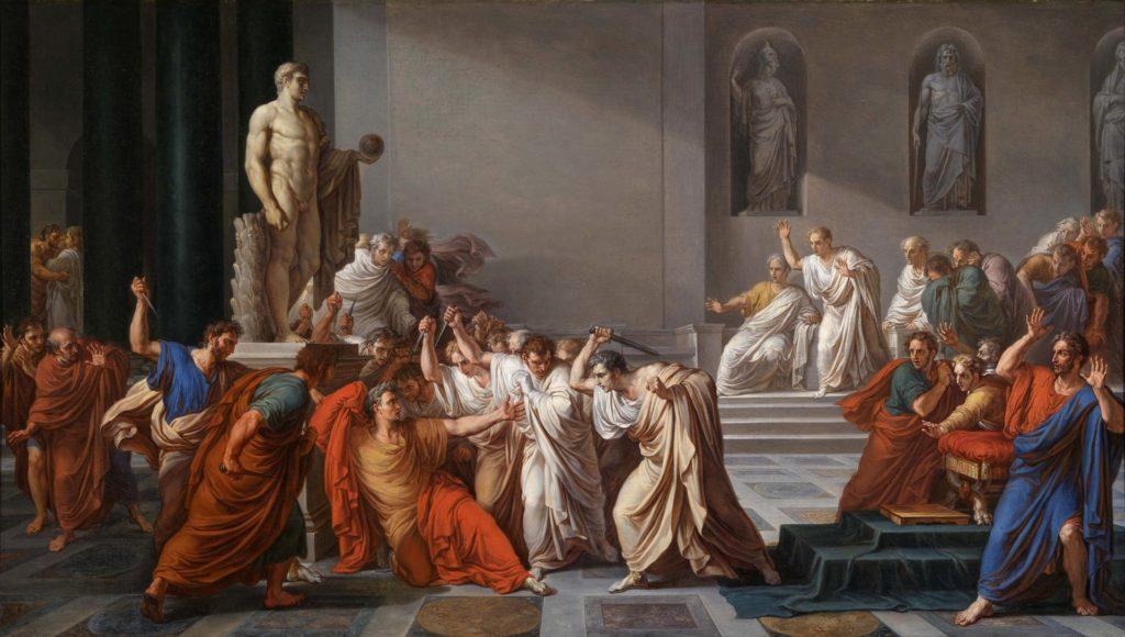 Vincenzo Camuccini - La mort de César (1804-1805)