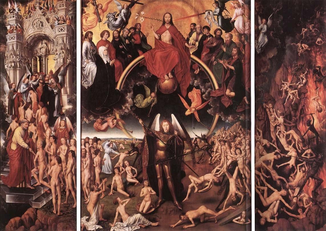 Hans Memling - Triptyque du jugement dernier (1467 - 1471)