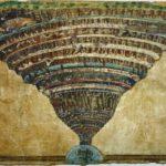 Sandro Botticelli - La carte de l'Enfer (1496)