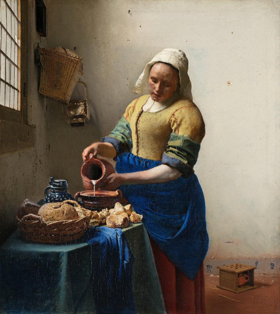 Johannes Vermeer - La laitière